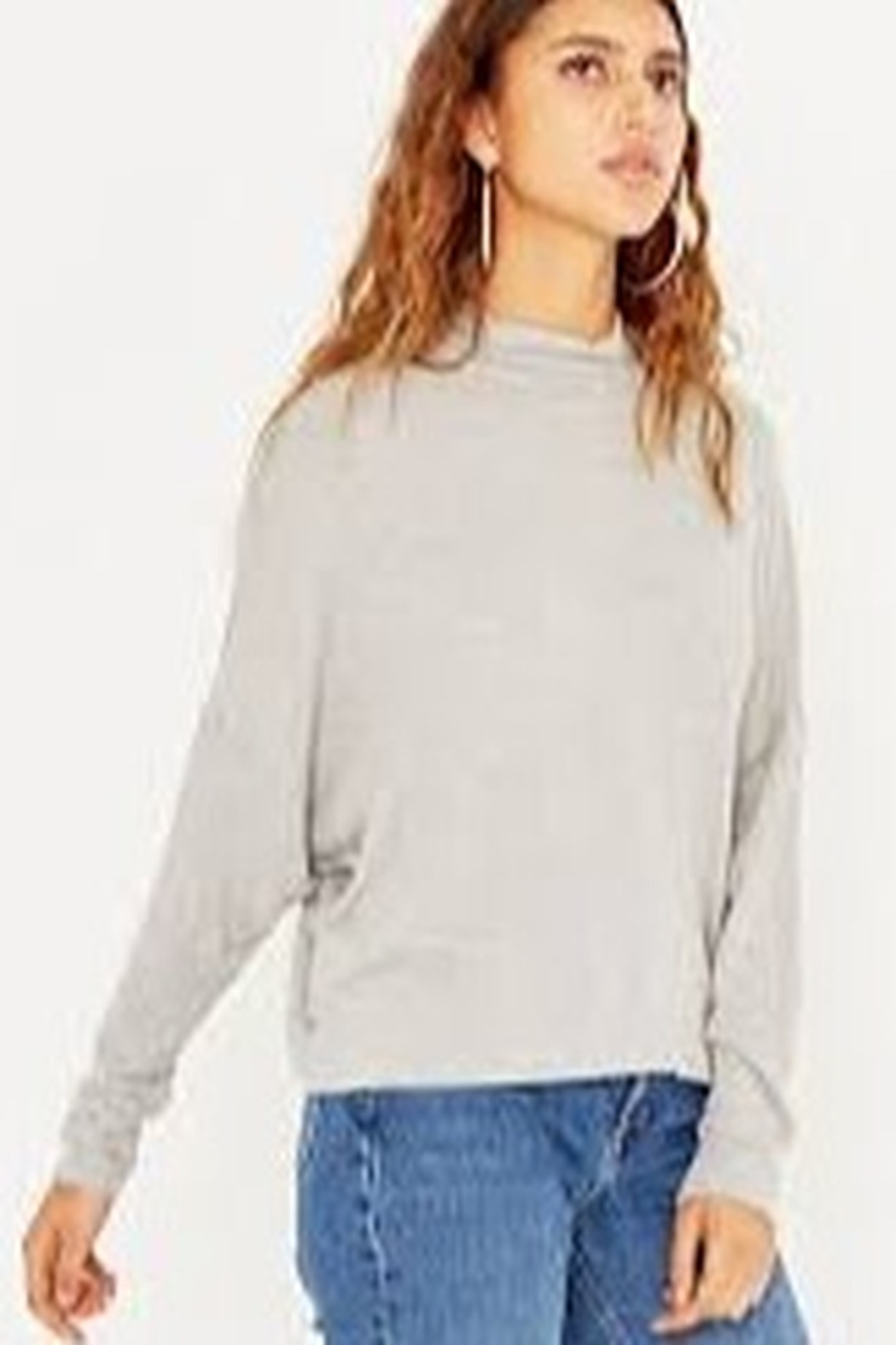 Project Social T Mock Neck Top - Side Cropped Image