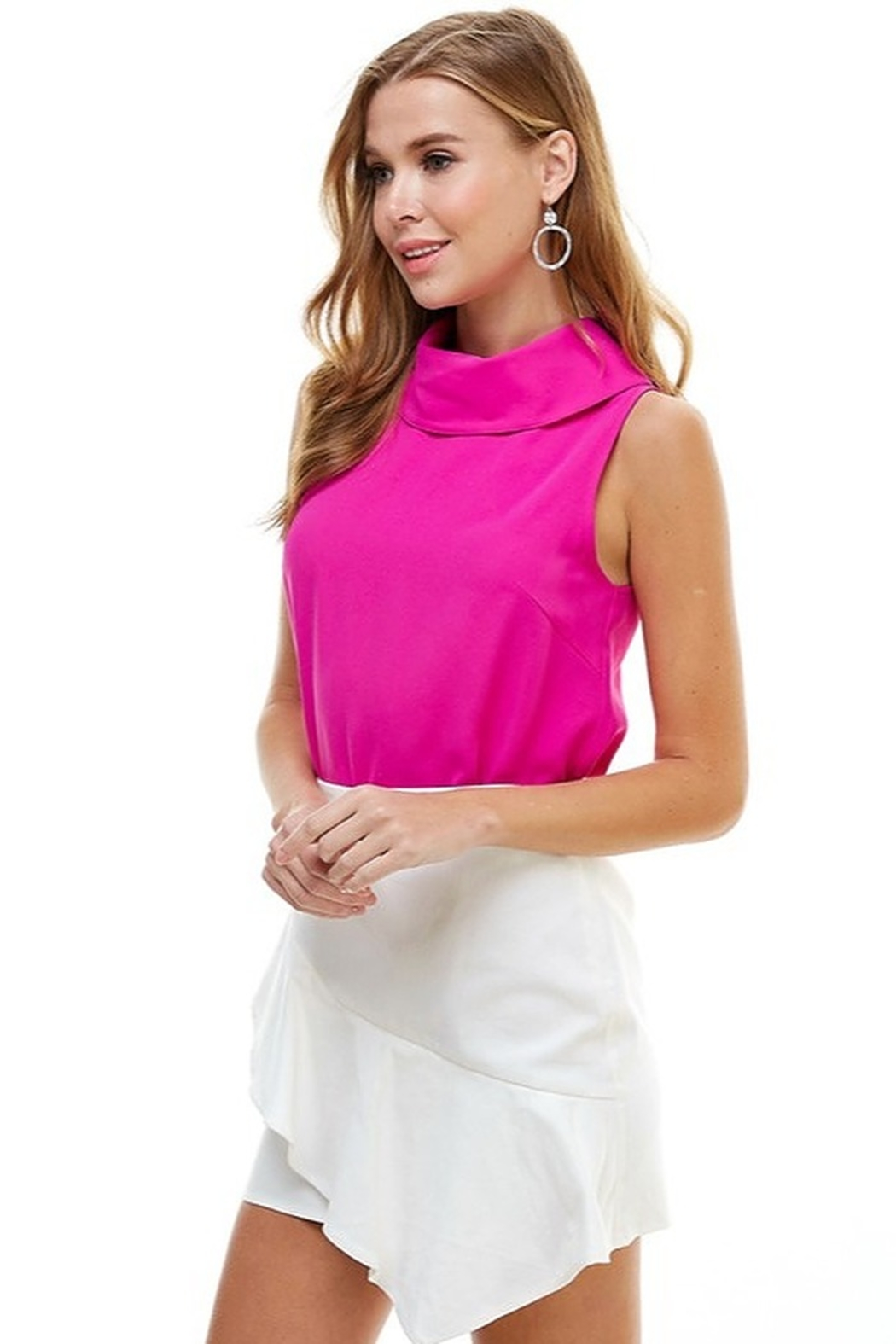 TCEC Mock Neck Top - Front Full Image