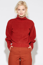 Callahan Mock Pullover Sweater - Product Mini Image
