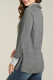Mod-o-doc Cowl Neck Pullover Top - Side cropped
