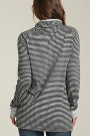 Mod-o-doc Cowl Neck Pullover Top - Front full body