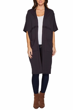 Shoptiques Product: Seamed Cocoon Cardigan