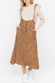 Lush Mod Overall Skirt - Product Mini Image