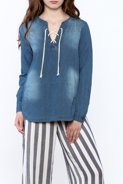 Mod Ref Denim Boxy Top - Product List Image
