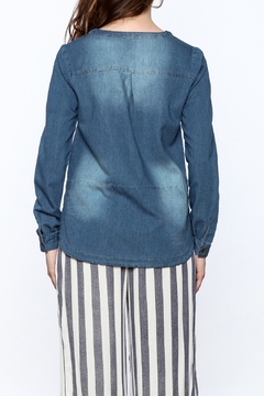 Mod Ref Denim Boxy Top - Alternate List Image