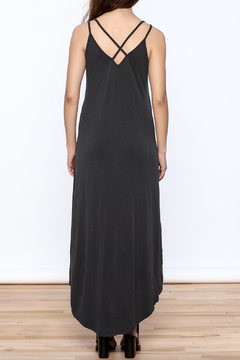 Mod Ref Charcoal Sleeveless Maxi Dress - Alternate List Image