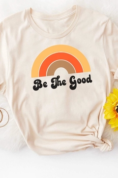 MOD&SOUL Be-The-Good Graphic Tee - Alternate List Image