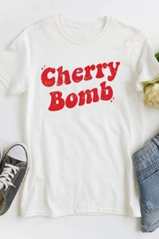 MOD&SOUL Cherry-Bomb Graphic Tee - Product Mini Image