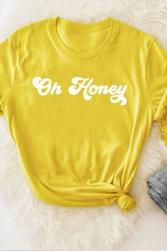 MOD&SOUL Oh-Honey Graphic Tee - Alternate List Image