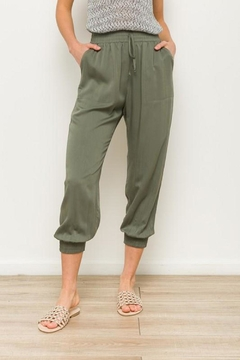 MOD&SOUL Olive Jogger Pants - Alternate List Image