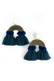 Mod & Jo Havana Pom Earrings - Product Mini Image