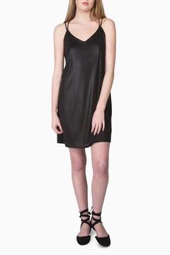 Mod Ref Black Slip Dress - Product List Image