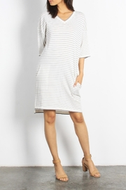 Mod Ref Channing Striped Dress - Front cropped