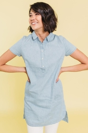 Mod Ref Don't Deni Denim-Dress - Product Mini Image
