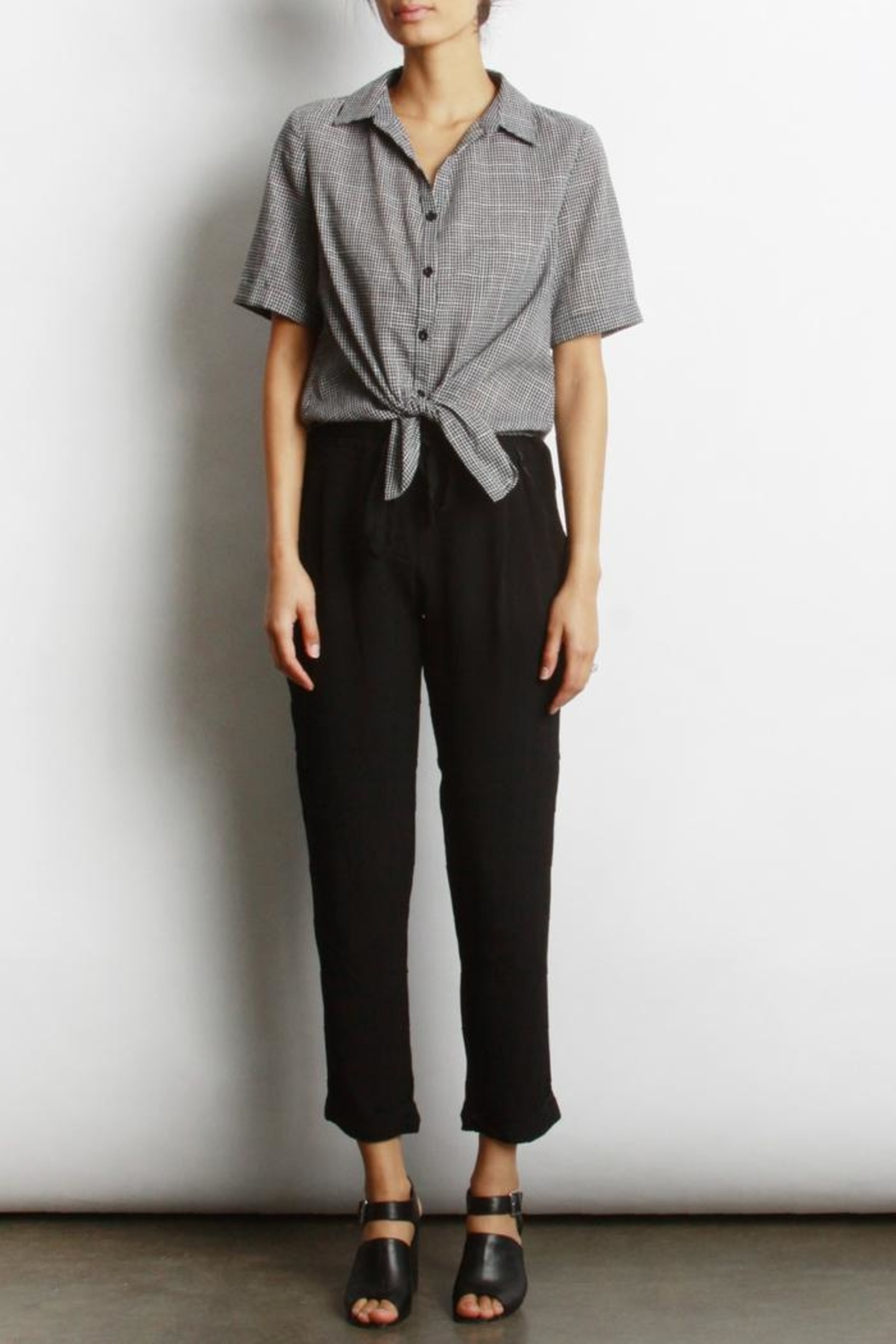 Mod Ref Loise Cuffed Pant - Front Full Image