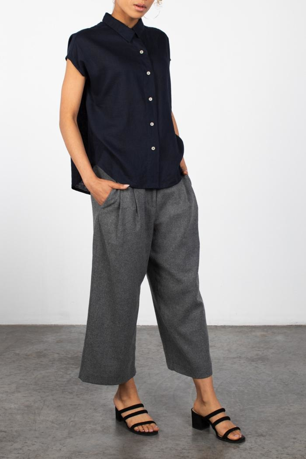 Mod Ref Noel Culottes - Front Cropped Image