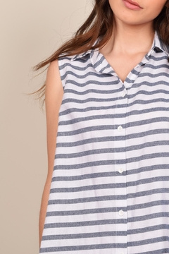 Mod Ref Stripe Print Shift Dress - Alternate List Image