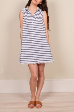 Mod Ref Stripe Print Shift Dress - Product List Image