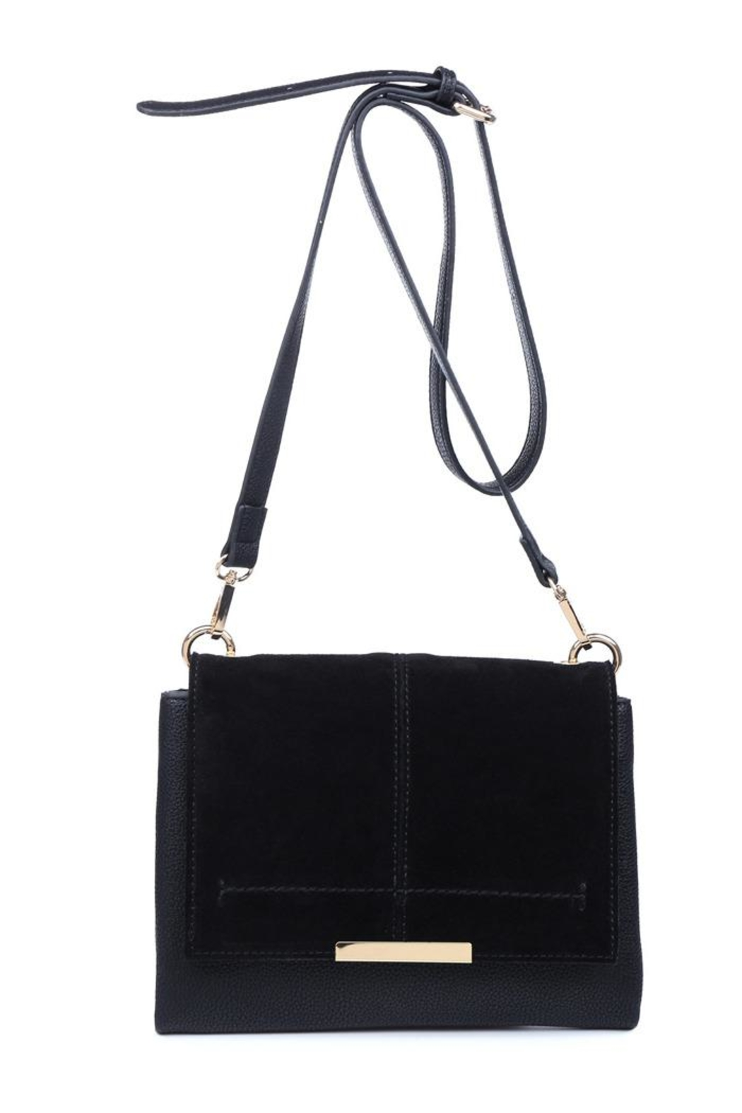 Moda Luxe Alexis Suede Crossbody - Front Cropped Image