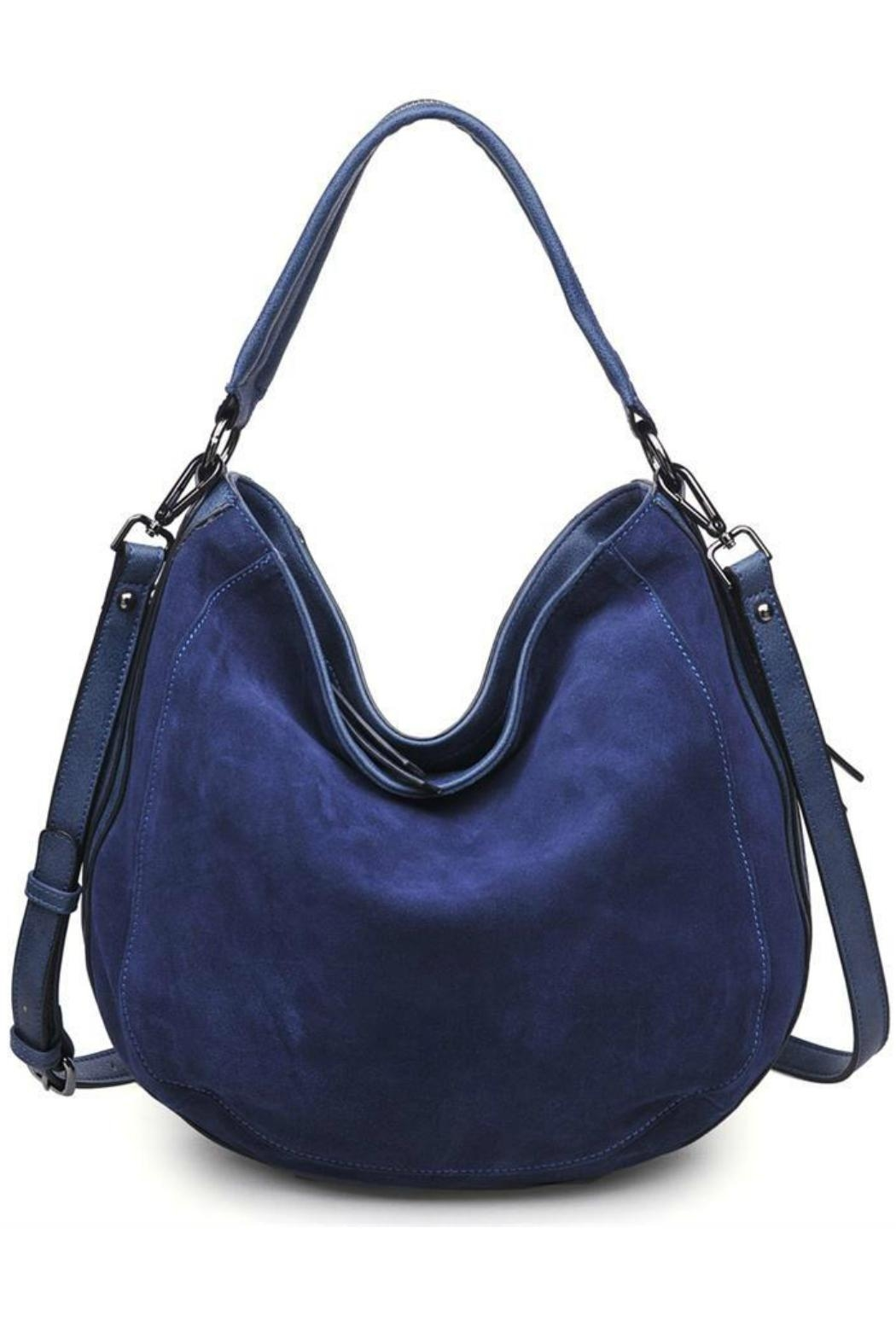 Moda Luxe Classic Hobo Bag - Front Cropped Image