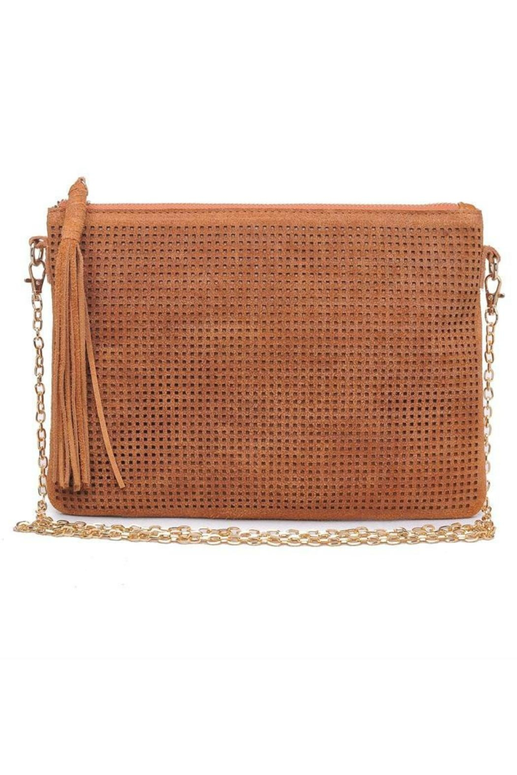 Moda Luxe Crossbody With Tassel - Main Image