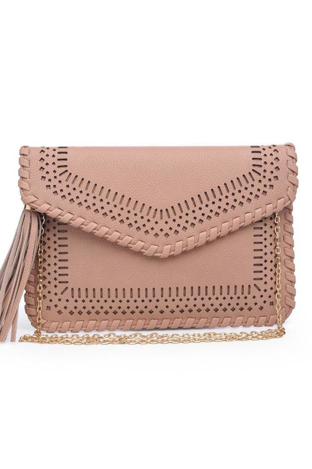 Moda Luxe Daisy Clutch - Front Full Image
