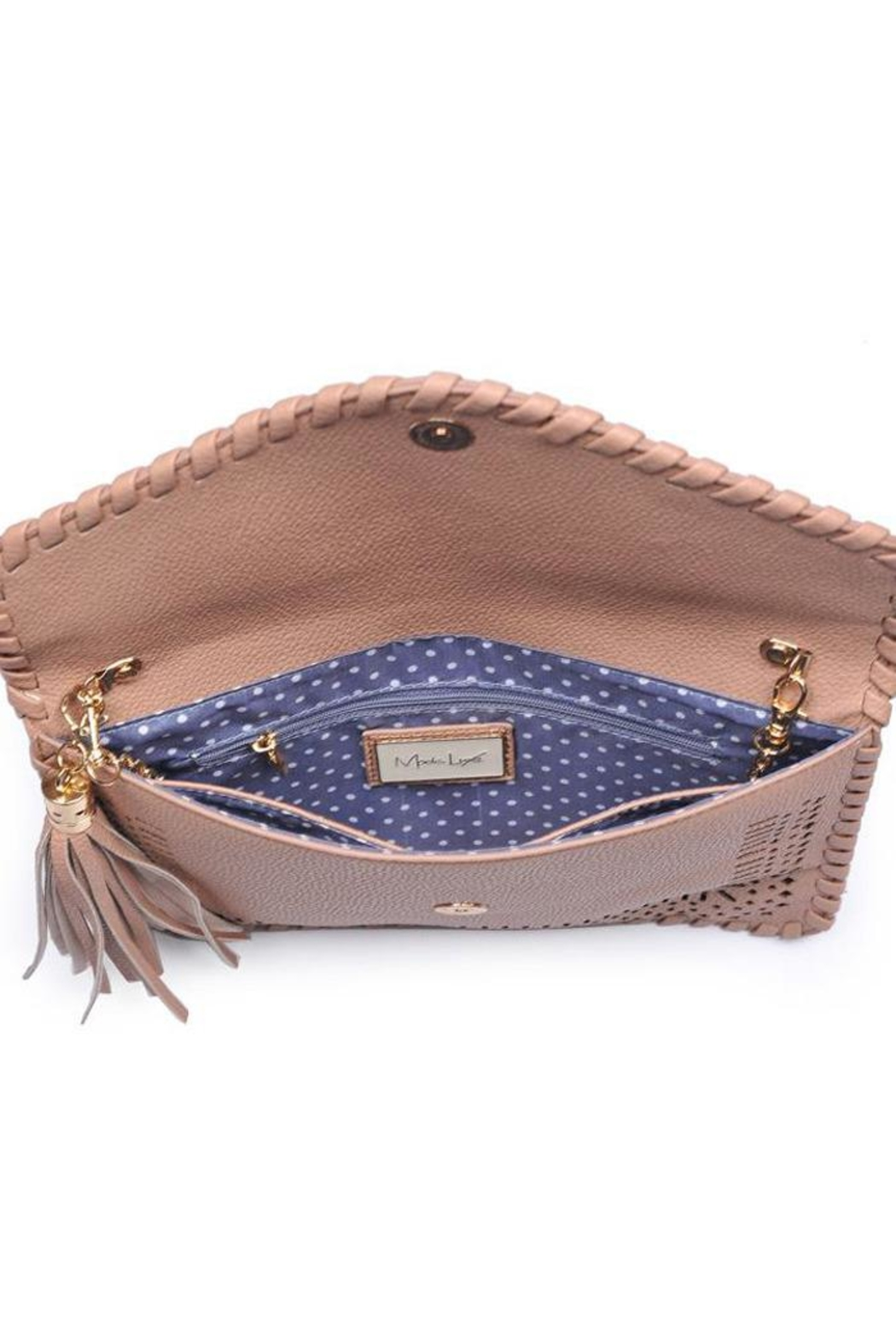 Moda Luxe Daisy Clutch - Back Cropped Image