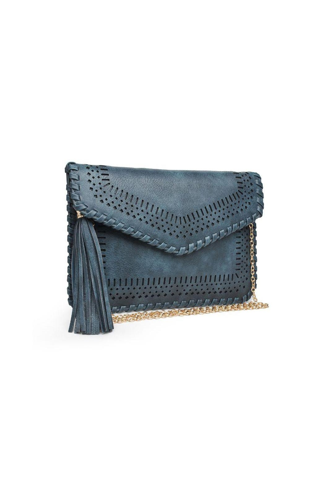 Moda Luxe Daisy Clutch - Front Cropped Image