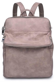 Moda Luxe Faux Leather Backpack - Product Mini Image