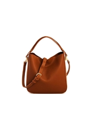 Moda Luxe Faux-Leather Satchel Set - Product Mini Image