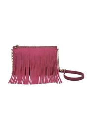 Moda Luxe Fringe Crossbody Bag - Front cropped