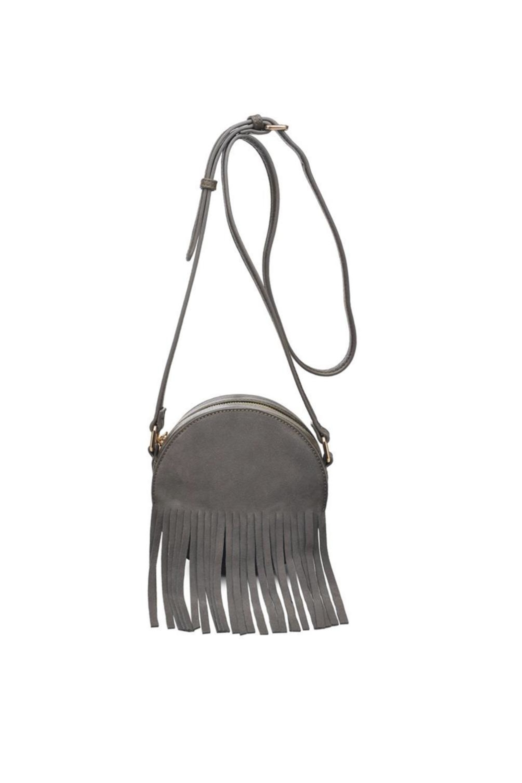 Moda Luxe Fringe Cross Body Bag - Front Cropped Image