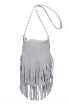 Moda Luxe Suede Fringe Crossbody Bag - Product List Image