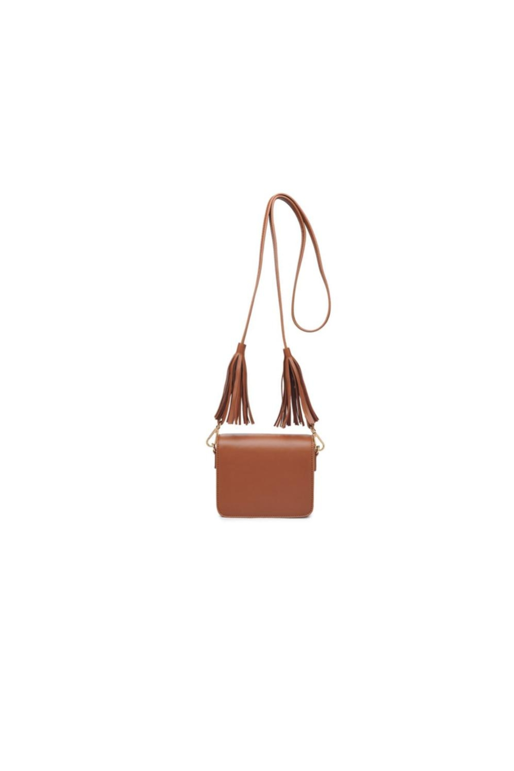 Moda Luxe Tassel Cross Body Bag - Front Cropped Image