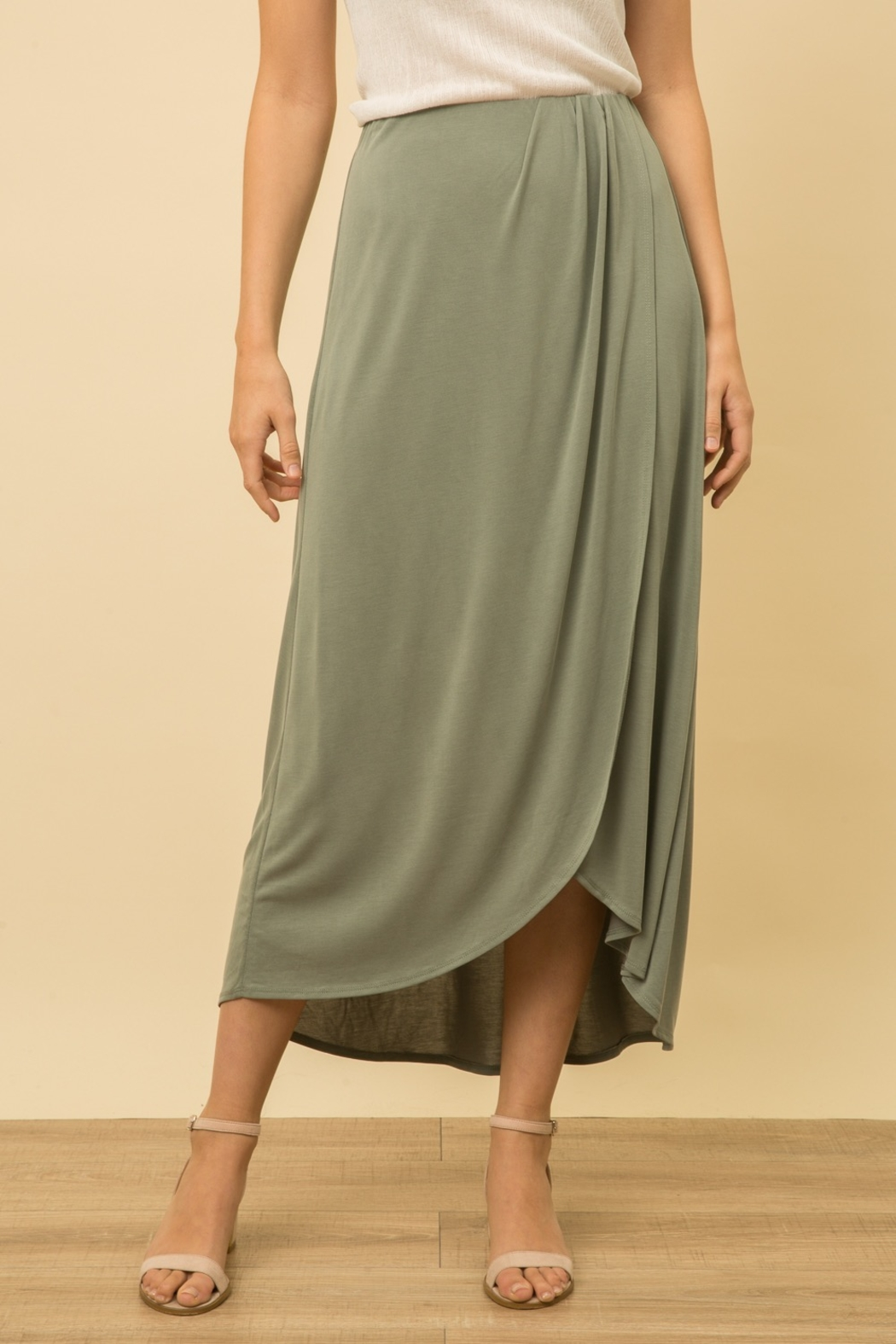 Mystree Modal Skirt - Front Cropped Image