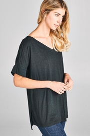 Racine Modal Solid Tee - Front cropped