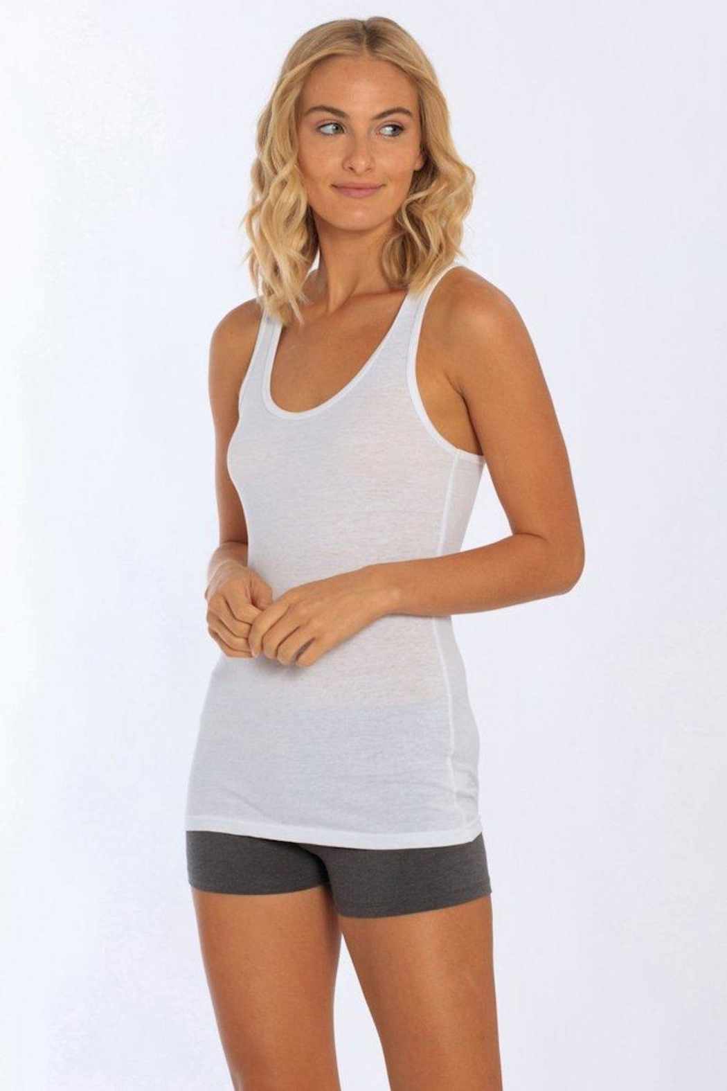 Miami Style Modal Tank - Front Cropped Image