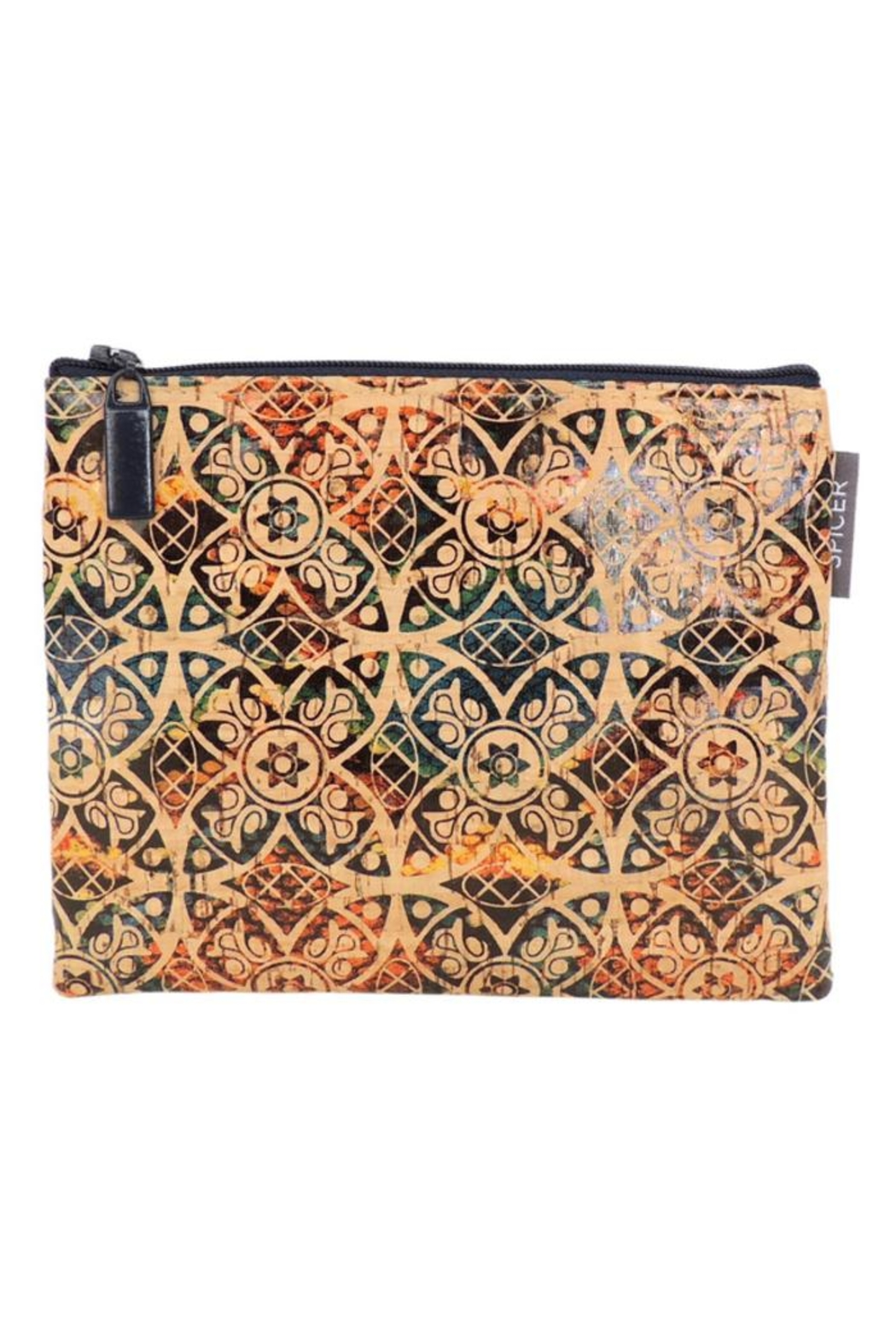 Spicer bags Modara Cork Pouch - Front Cropped Image