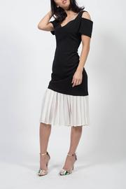 MODChic Couture Colorblock Pleat Dress - Product Mini Image