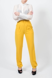 MODChic Couture Hot Mustard Pants - Product Mini Image