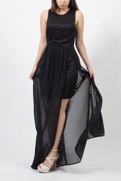 MODChic Couture Lace Black Dress - Product List Image