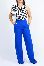 MODChic Couture Polkadot Flared Onesie - Product Mini Image