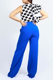 MODChic Couture Polkadot Flared Onesie - Front full body