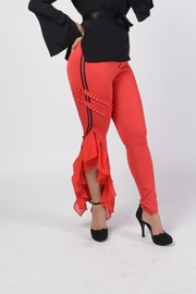 MODChic Couture Rehab Red Trousers - Product Mini Image