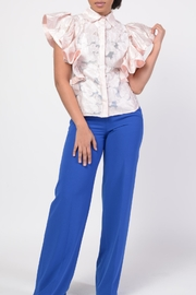 MODChic Couture Rose Flare Blouse - Product Mini Image