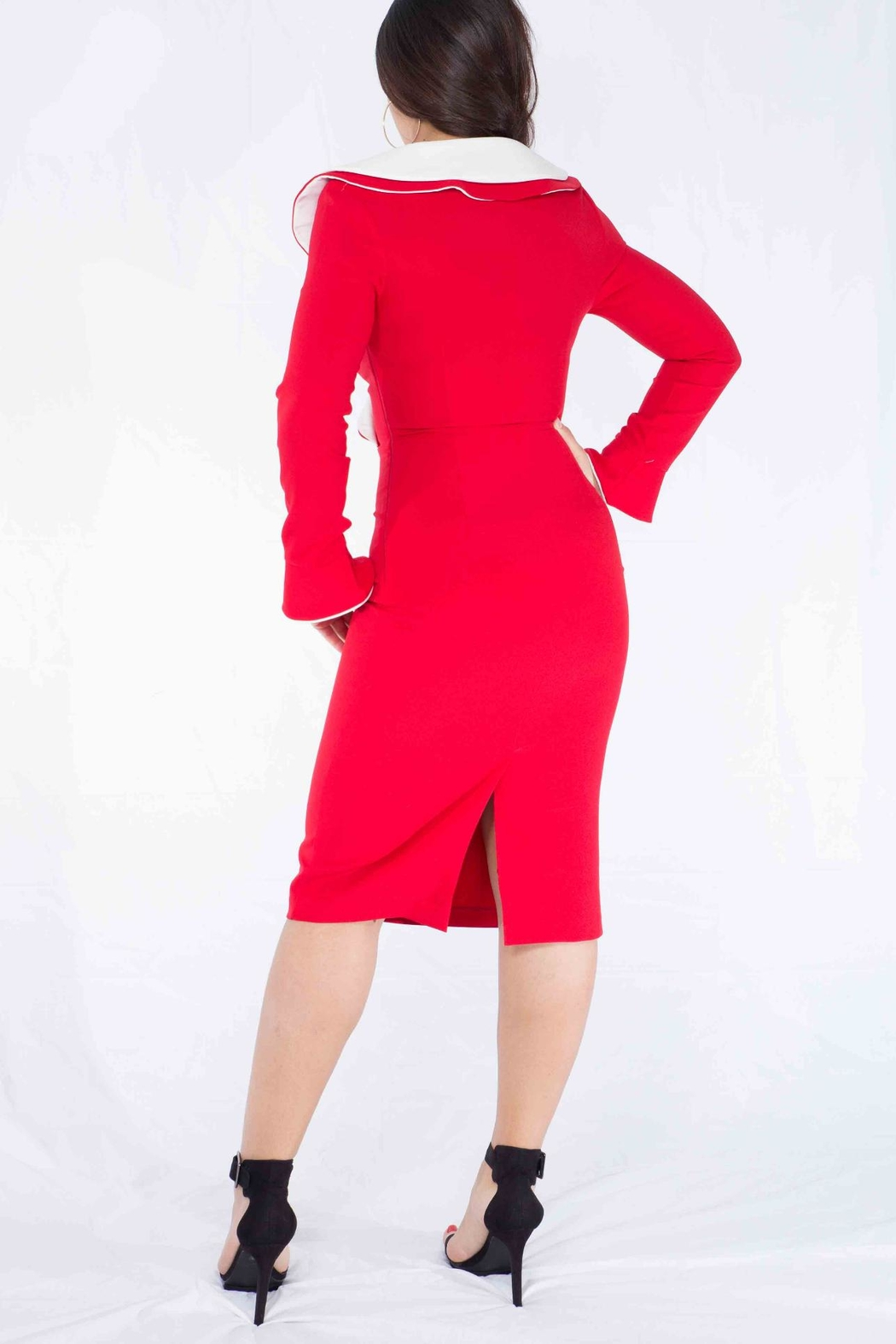 MODChic Couture Santababy Holiday Dress - Side Cropped Image