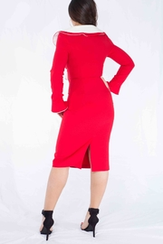MODChic Couture Santababy Holiday Dress - Side cropped