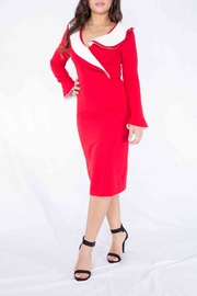 MODChic Couture Santababy Holiday Dress - Front cropped