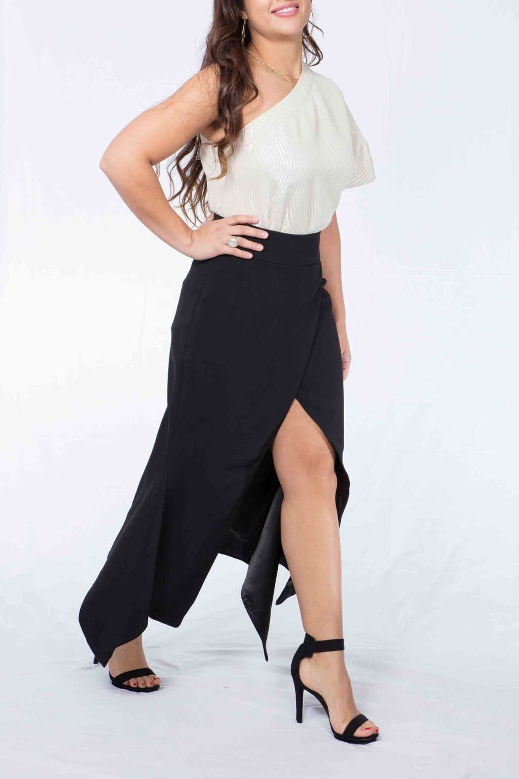 MODChic Couture Taylor Glam Top - Front Full Image