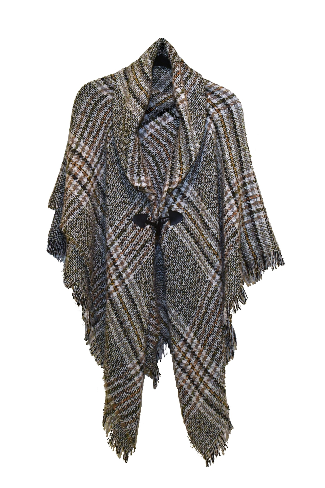 Modena fashion One Size Poncho - Front Cropped Image